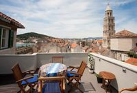 De Lux Seaview studio apartment for 2 in Split old town