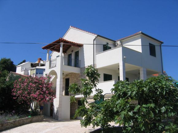 Apartment for 4 person with seaview in Postira on Island Brac